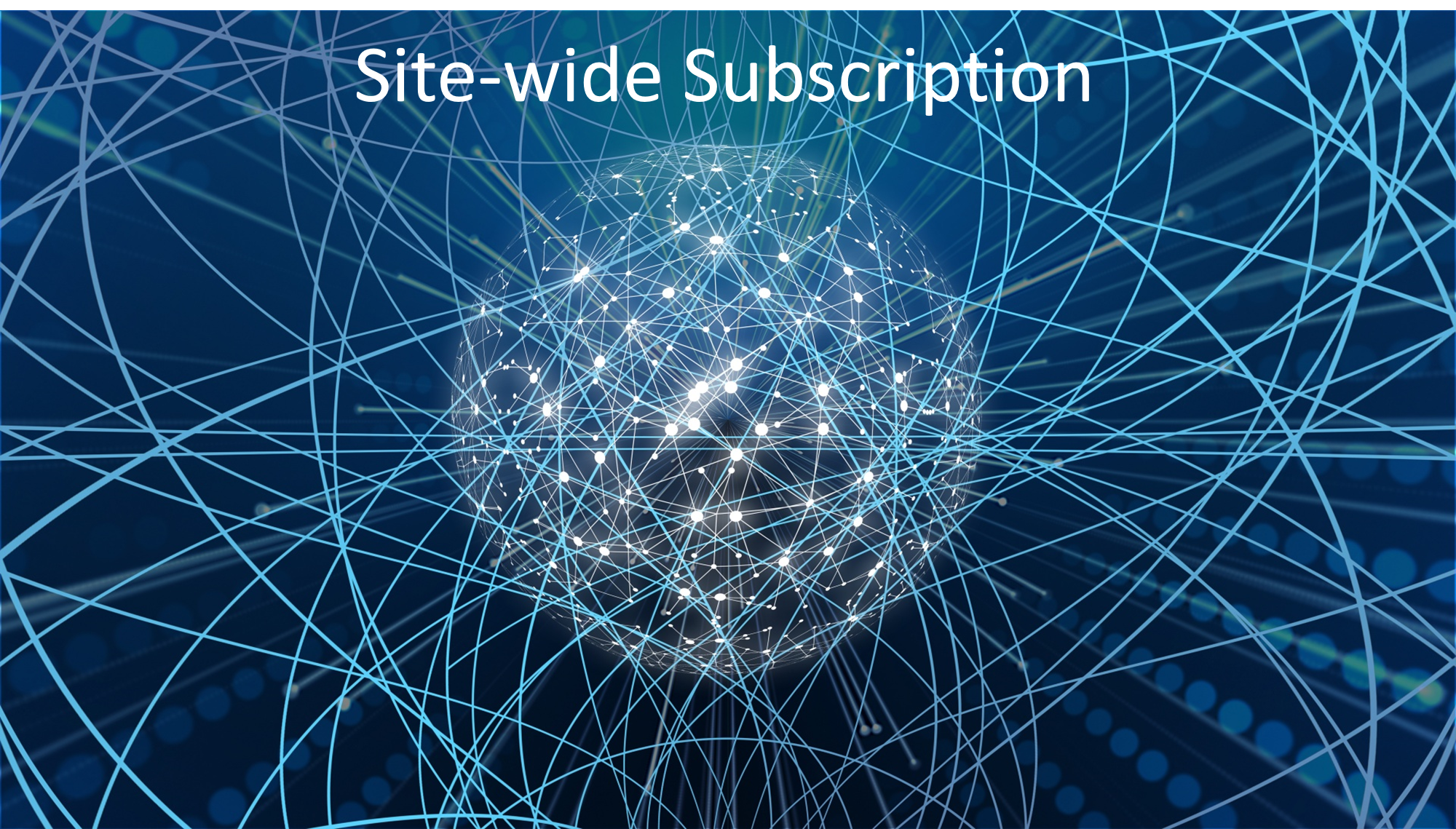 Site-wide Subscription