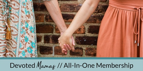 Devoted Mamas // Bump-To-Baby Membership