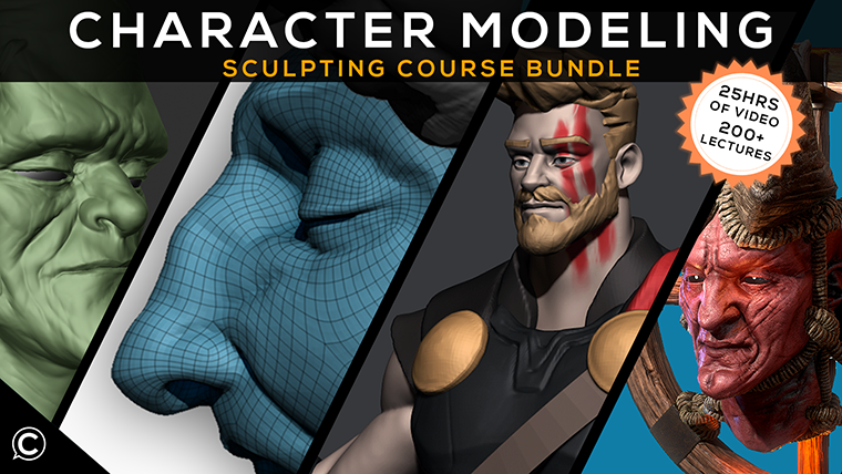 3D Character Modeling Course Bundle: Comprehensive Sculpting Guide