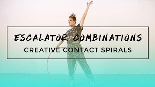 Escalator Combinations (40+ hoop dance moves)