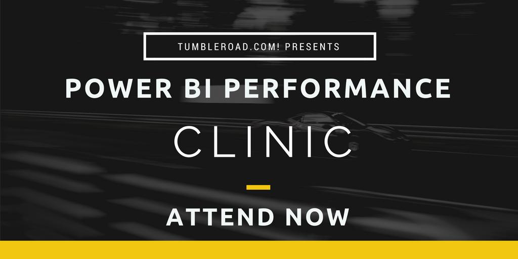 Power BI Performance Clinic