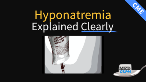 hyponatremia explained clearly