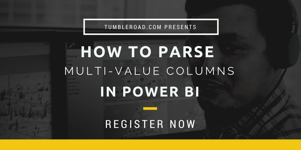 How to parse multi-value columns (comma separated values) in Power BI