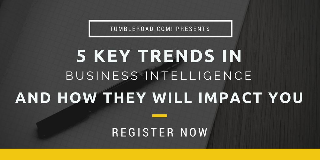 Five key trends in Business Intelligence and how they will impact you