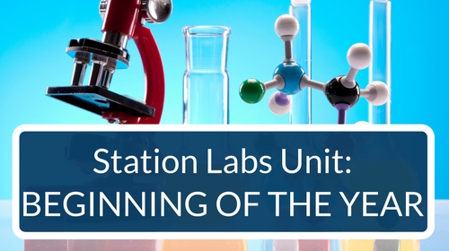 Beginning of the Year Station Labs Bundle