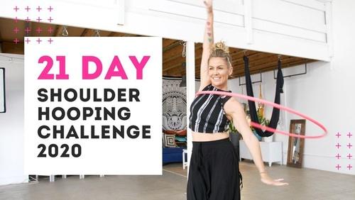 21 Day Shoulder Hooping Challenge