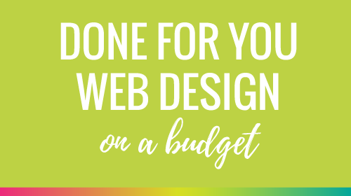 Done For You Web Design