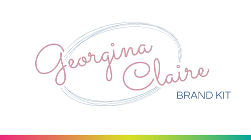Georgina Claire - Pre-Made Brand Kit