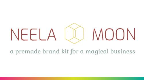 Neela Moon - Pre-Made Brand Kit