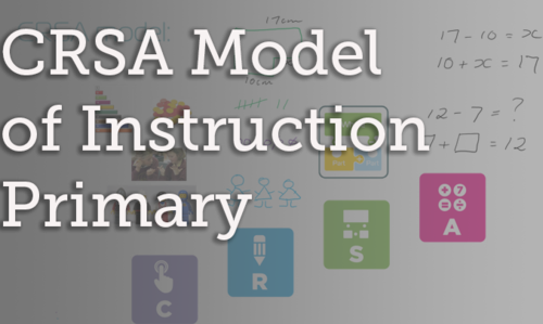 LY-NF-003 CRSA Model of Instruction - Primary Teachers