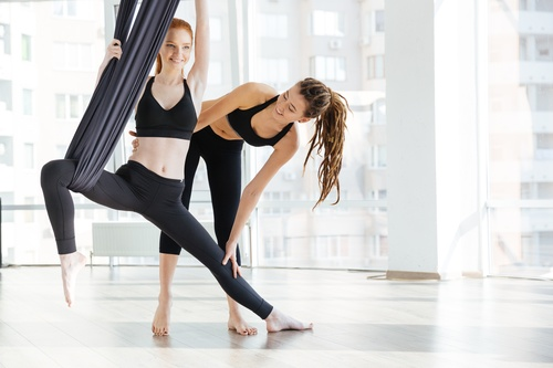 250hr Aerial Yoga Teacher Training Certification-  Registered & Alliance Approved. In English