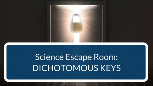 Dichotomous Keys Escape Room