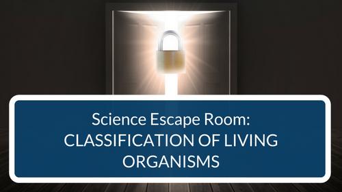 Classification Escape Room