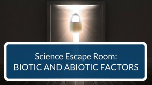 Biotic and Abiotic Factors Escape Room