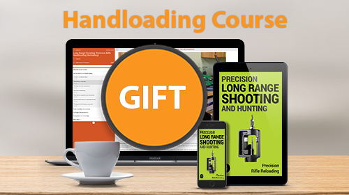 GIVE A GIFT of Precision Rifle Handloading (Reloading)