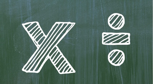 Multiplication and division for special education