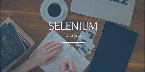 Selenium Java Test Automation