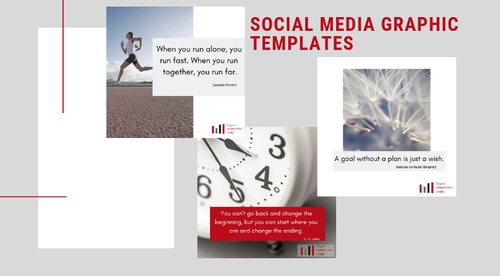 Social Media Graphic Templates