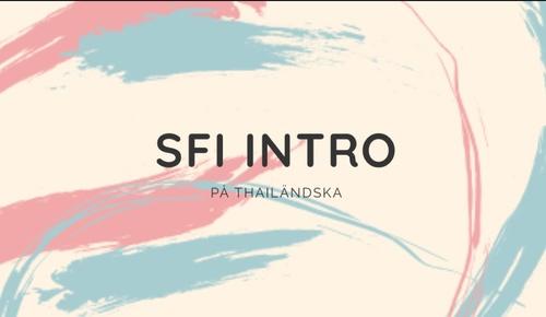 SFI INTRO - คำศัพท์และประโยคเบื้องต้นสำหรับคนที่เริ่มเรียน SFI