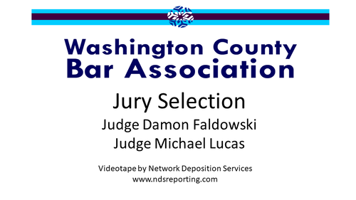 Jury Selection: Civil and Criminal Trials (1 PA Substantive CLE Credit)