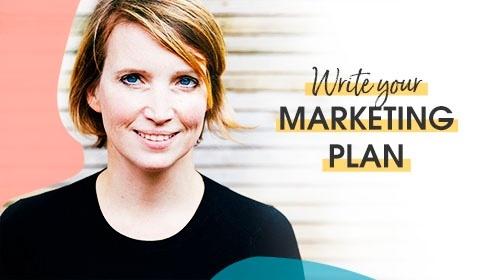 Write your marketing plan