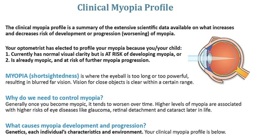 Myopia Profile Download