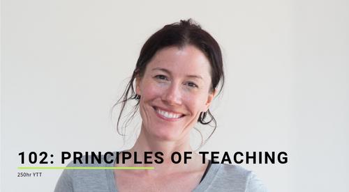 102: Principles of Teaching