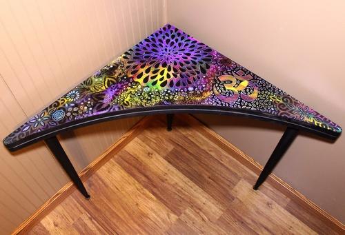 Rick Cheadle Faux Batik Furniture Makeover