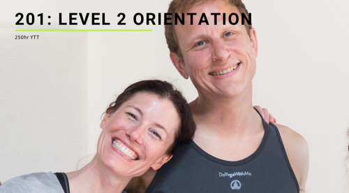 201: Level 2 Orientation