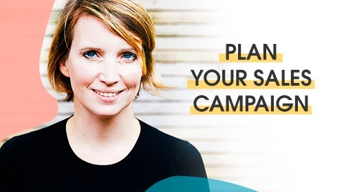 Plan your sales campaign