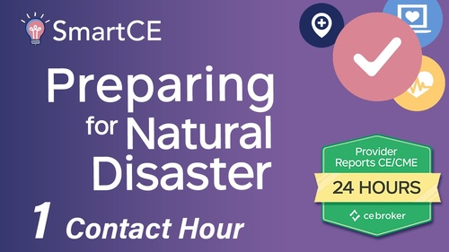Preparing for Natural Disaster - 1 Contact Hour/20-684897