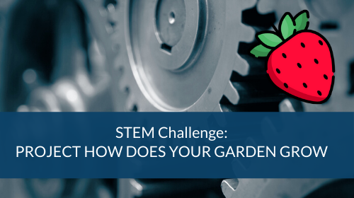 STEM Challenge - Project How Does Your Garden Grow