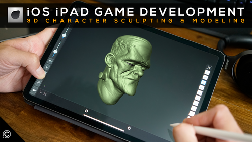 Forger iOS iPad Game Development 3D Character Sculpting & Modeling