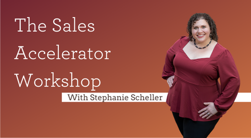 The August 2020 Sales Accelerator Workshop