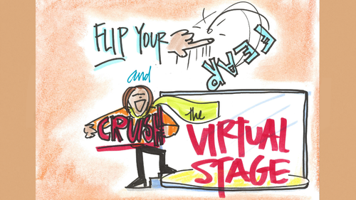 Flip Your Fear and Crush the Virtual Stage