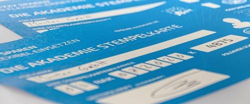 Akademie <br> 6er Stempelkarte