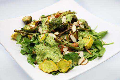 Ensalada de Verduras Rostizadas