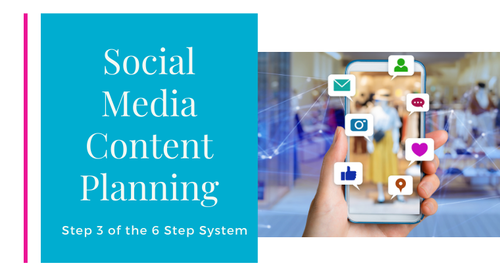 Step 3 - Social Media Content Planning