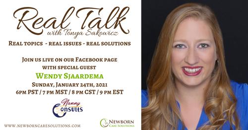 Real Talk with Wendy Sjaardema 2