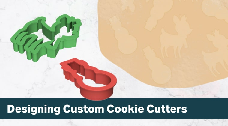 Design custom 3D printable cookie cutters in Fusion 360