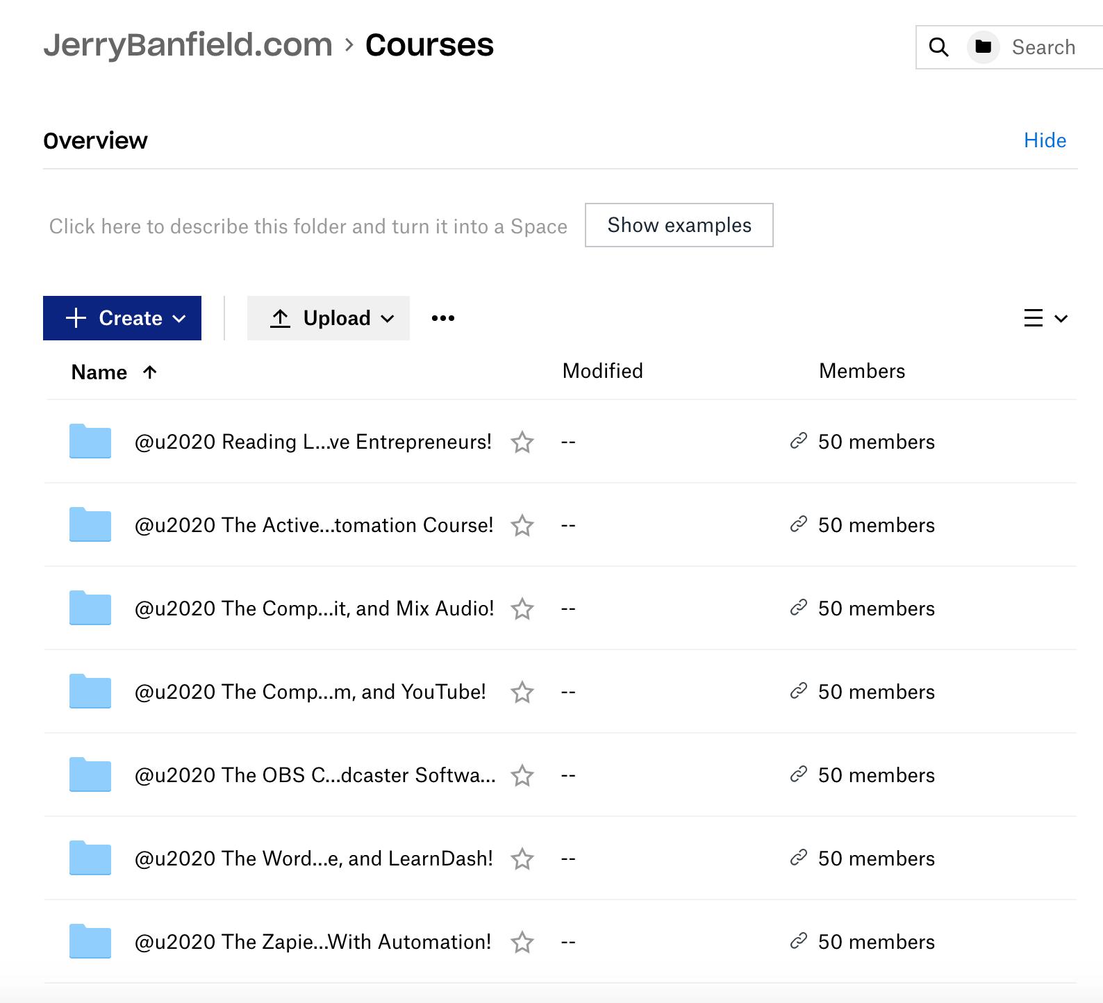 Jerry Banfield's PLR Video Courses Bundle